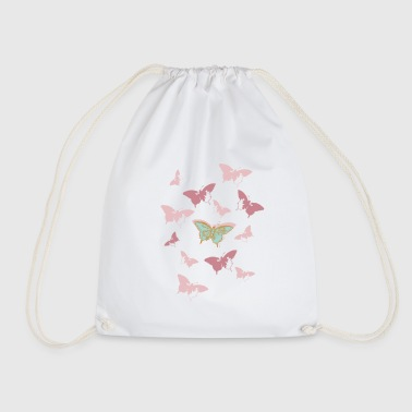 Animal Planet Butterfly Swarm - Drawstring Bag