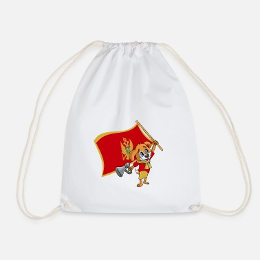 Montenegro Montenegro fan dog - Drawstring Bag