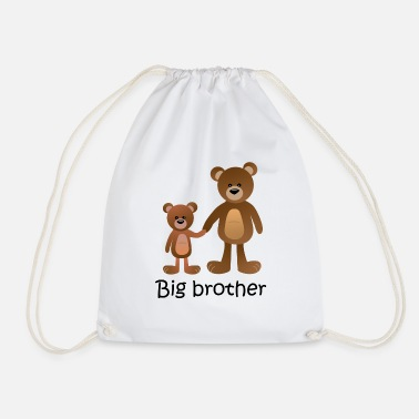 bear big brother - Turnbeutel