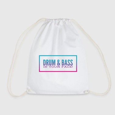 DRUM N BASS - Drawstring Bag