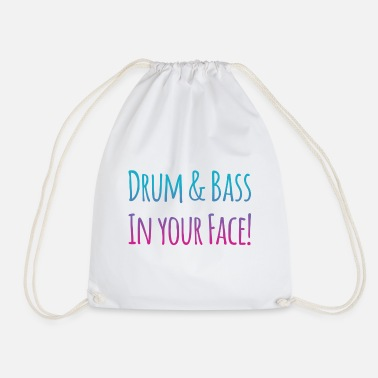 Drum N Bass DRUM N BASS - Drawstring Bag