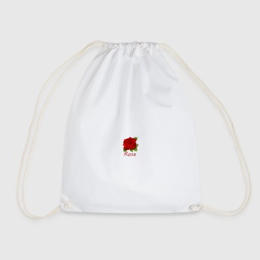 Red Rose Red rose - Drawstring Bag