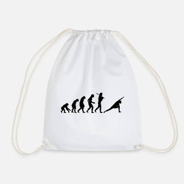 Yoga exercices cadeau Evolution - Sac à dos cordon