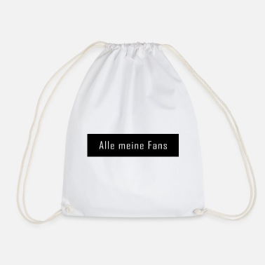 Fan Alle mine fans - Gymbag