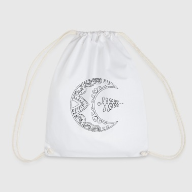 Half moon - Drawstring Bag