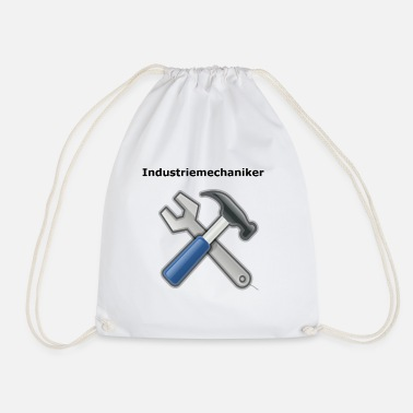 industrial mechanic - Drawstring Bag