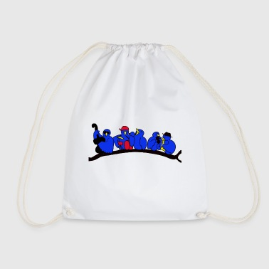 Concert bird concert - Drawstring Bag