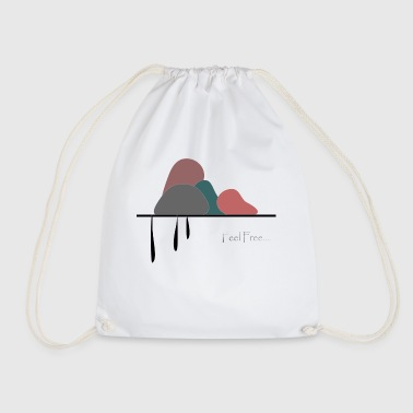 Art and poetry - Drawstring Bag