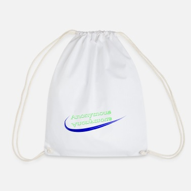 Anonymity !!! Anonymous !!! - Drawstring Bag
