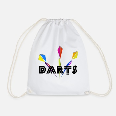 Dart Darts Darts - Drawstring Bag