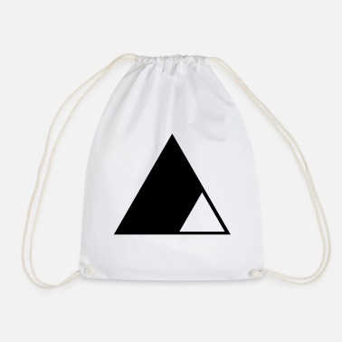 Triangle Triangle in the triangle - Drawstring Bag