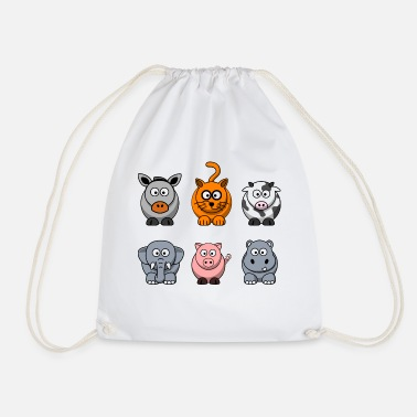 Farming farm - Drawstring Bag