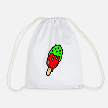 Fruit A refreshing cactus ice cream - Drawstring Bag