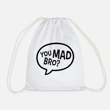 Evil You Mad Bro - Drawstring Bag