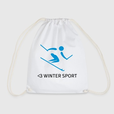 Winter sports - Drawstring Bag