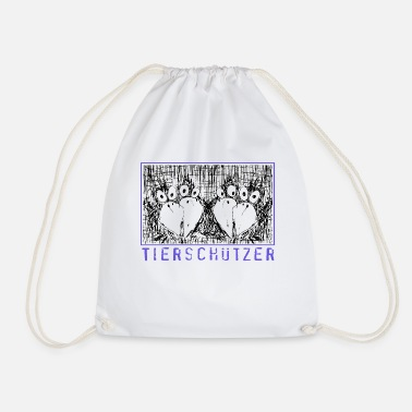 Animal Rights Activists Animal rights activists - Drawstring Bag