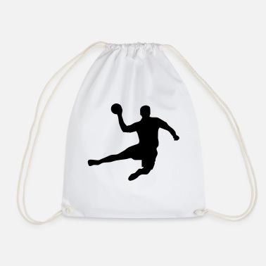 Handball Player Handball - Handballer - Handball player - Drawstring Bag