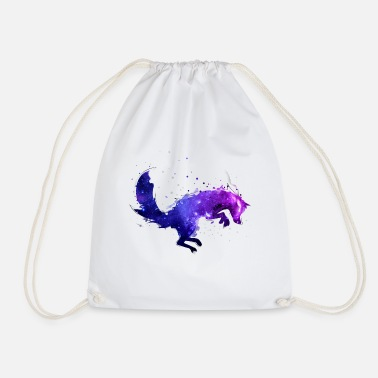 Space Wolf - Drawstring Bag