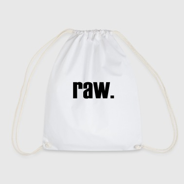raw - Drawstring Bag