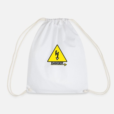 Dangerous Danger danger - Drawstring Bag