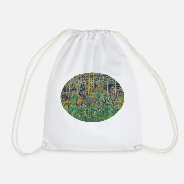 Fun Fairground horse at the fair - Drawstring Bag