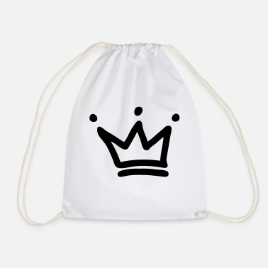 Crown crown crowns king - Drawstring Bag