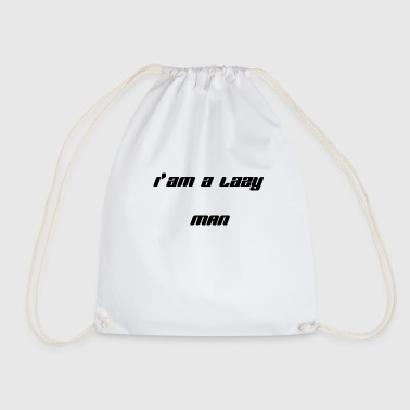 Lazy - Drawstring Bag