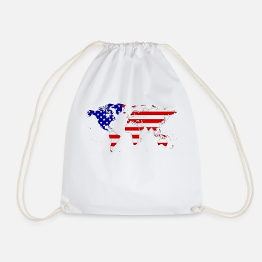 Usa USA - Drawstring Bag
