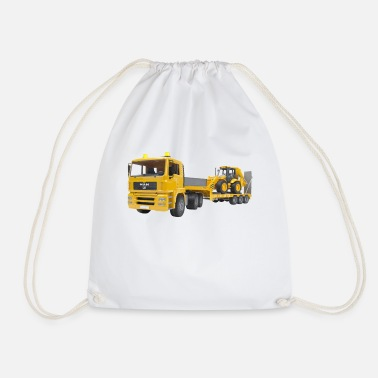 Transport transportation - Drawstring Bag