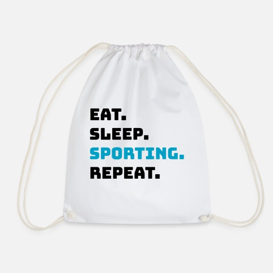 Bicyclette Bags & Backpacks - Sports - Drawstring Bag white