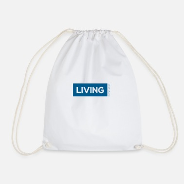 TS living water blau - Turnbeutel