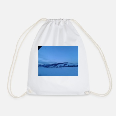 Cold cold - Drawstring Bag