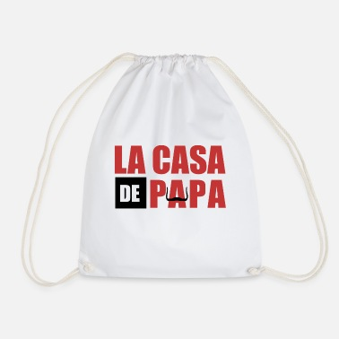 Series THE CASA OF PAPA - Drawstring Bag