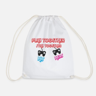 Together play together stay together - Drawstring Bag