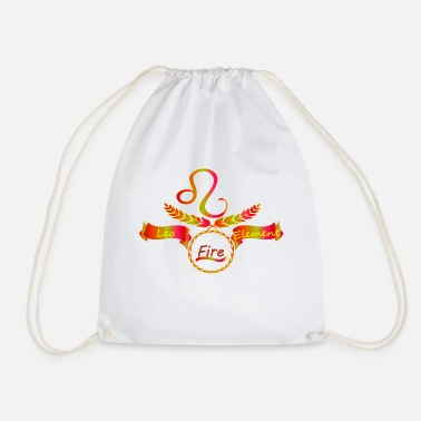 Sign Of Zodiac Zodiac sign Leo zodiac sign - Drawstring Bag