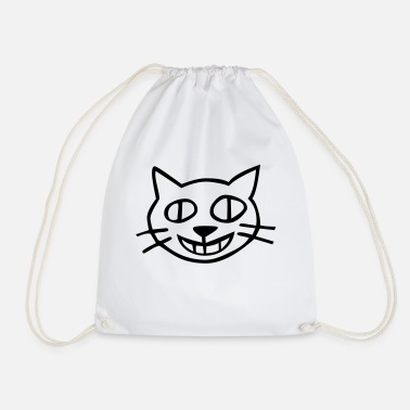 Kids Animal cat kids animal - Drawstring Bag