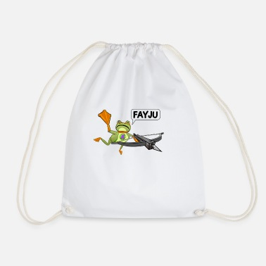 Amazing Frog Crossbow - Drawstring Bag