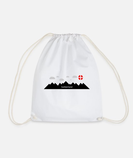 Swiss German Bags & Backpacks - switzerland - Drawstring Bag white