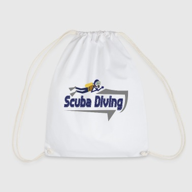 Scuba Diving Diver Diving - Drawstring Bag