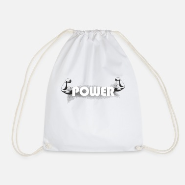 Muscles - Gift ideas - Drawstring Bag
