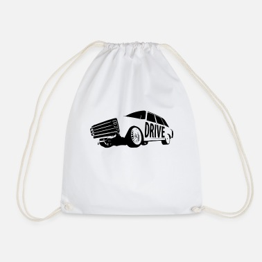 Drive Drive - Retro Drive - Drawstring Bag