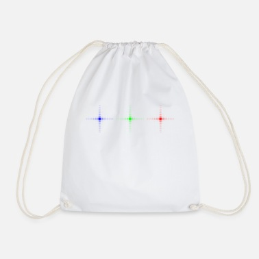 Rainbow Diffraction rainbow - Drawstring Bag
