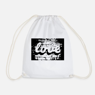 ValentinesDay Valentine's Day Love Love - Drawstring Bag