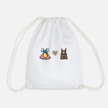 Costume Bavarian costume - Drawstring Bag