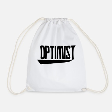 Optimiste optimiste - Sac à dos cordon