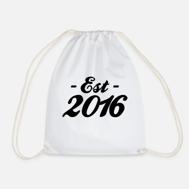 Established established 2016 - Drawstring Bag
