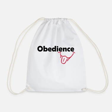 Obedience Obedience is Fun - Drawstring Bag