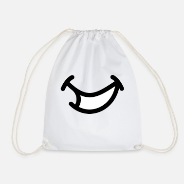 Comic Comic smile - Drawstring Bag