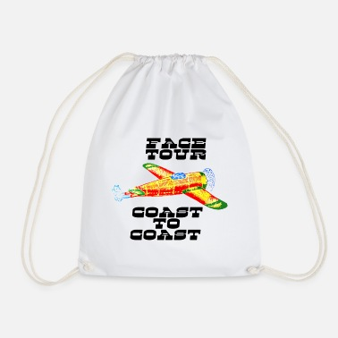 Coast Coast To Coast Graphic - Drawstring Bag