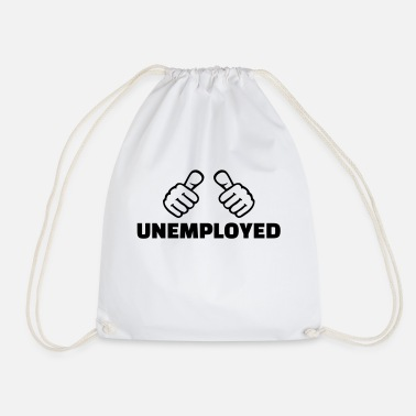 Unemployed Unemployed - Drawstring Bag